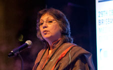 Moneeza Hashmi, President, CBA and General Manager, International Relations, HUM TV, Pakistan