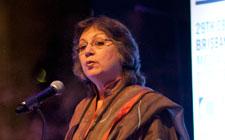 Moneeza Hashmi, President, CBA and General Manager, International Relations, HUM TV, Pakistan