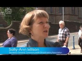 Sally-Ann Wilson on Isle of Man TV